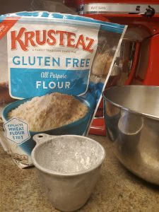 bake gluten free cowboy cookies Krusteaz flour