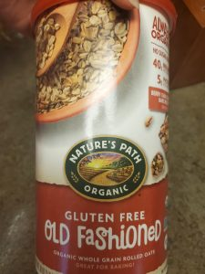 bake gluten free cowboy cookies nature's path oats