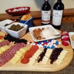 4th of July Quarantine Menu - Meat and Cheese