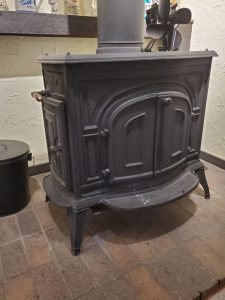 Less Work with Daily Cleaning - wood stove