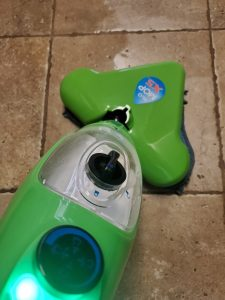 Less Work with Daily Cleaning - steam mop