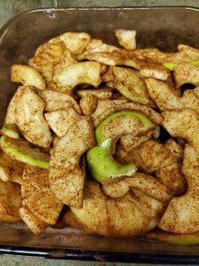 Best Gluten Free Apple Crisp - cinnamon apples