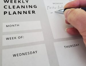 Less Work with Daily Cleaning - Planner